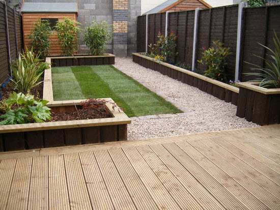 Fencing Worcester & Landscaping - Garden decking, sleepers ...